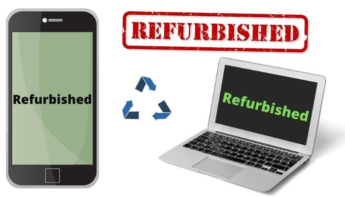 refurbished kya hai hindi meaning