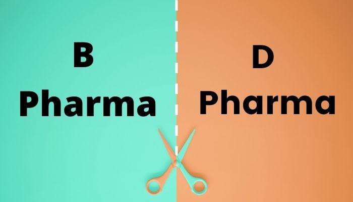 b pharma or d pharma me kya antar hai